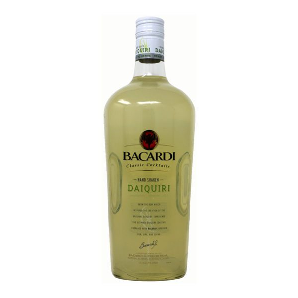 Bacardi Lime Daquiri Bottle Picture