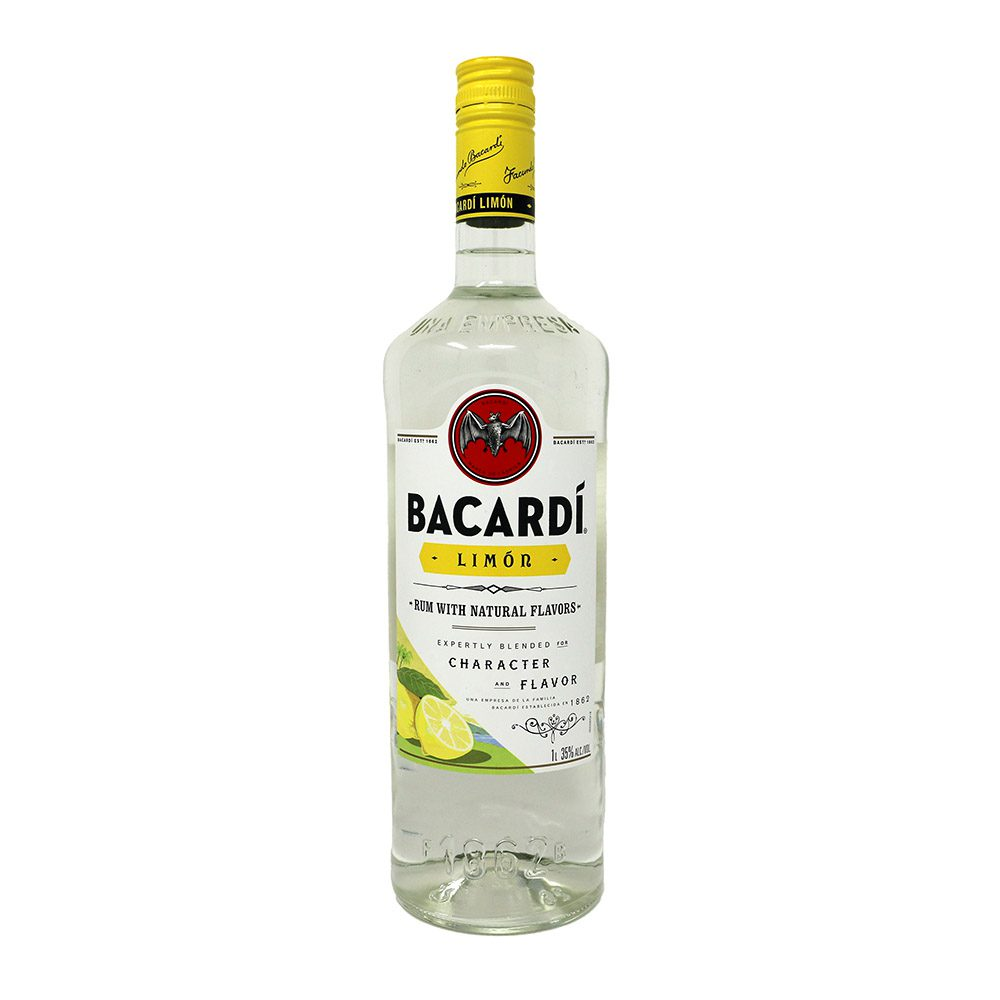 Bacardi Limon Rum Bottle Picture