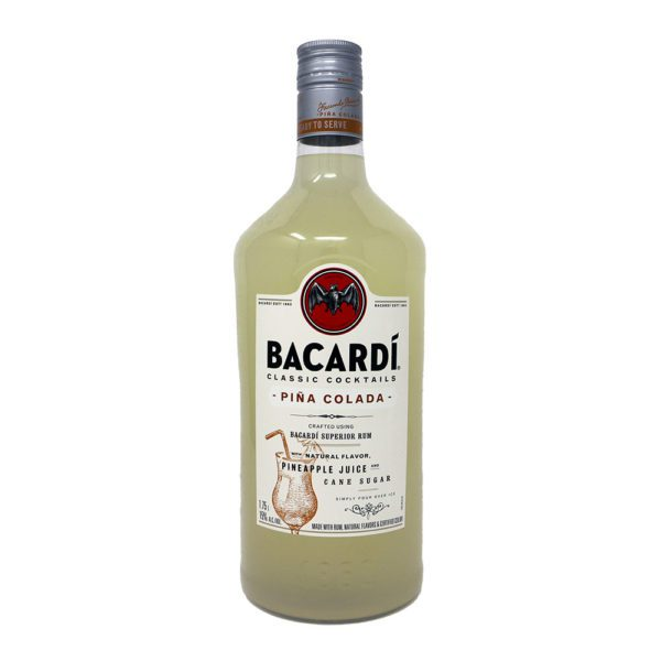 Bacardi Pina Colada Bottle Picture