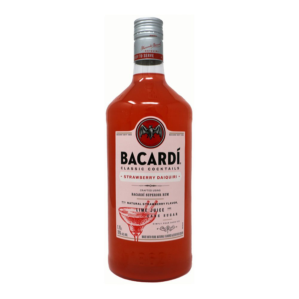 Bacardi Strawberry Daquiri Bottle Picture
