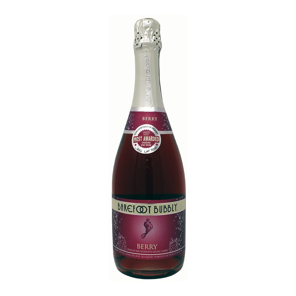 Barefooto Bubbly Berry Bottle Picture