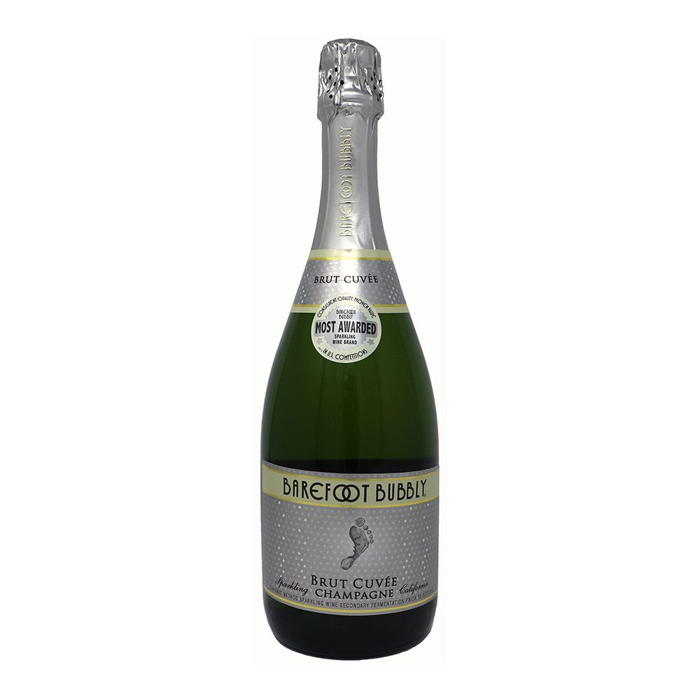 Barefoot Bubbly Brut Cuvee Bottle Picture