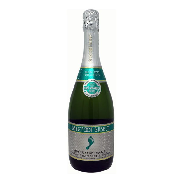 Barefoot Bubbly Moscato Spumante Bottle PIcture