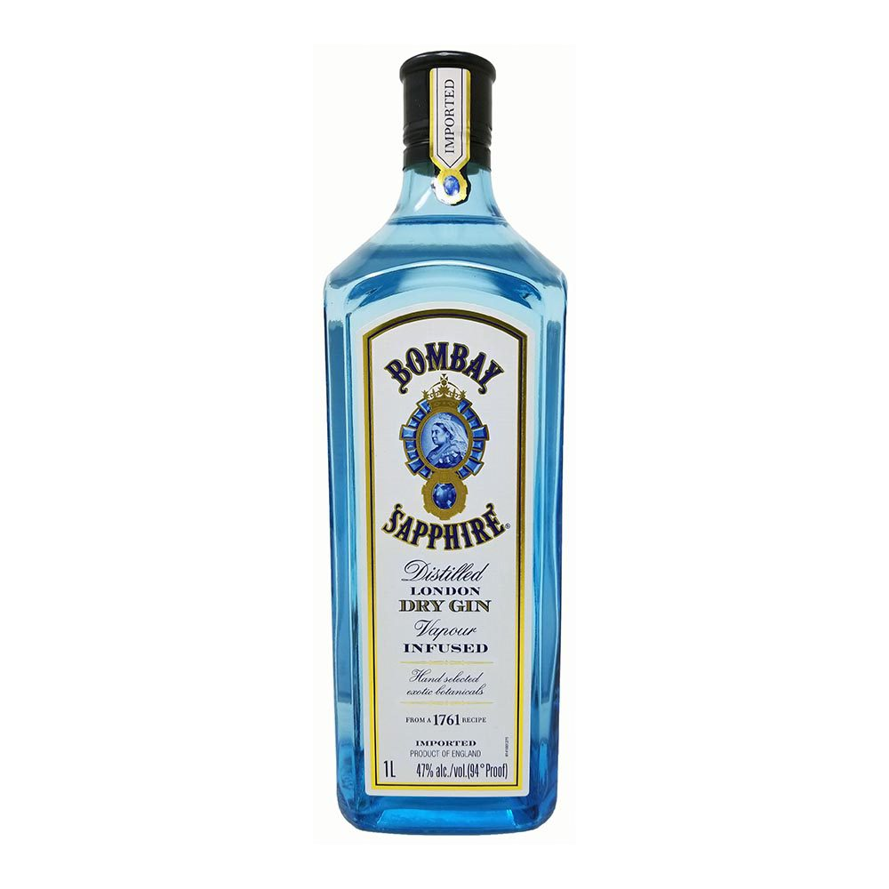 Bombay Sapphire Gin Bottle Picture