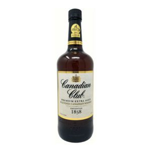 Canadian Club Whisky Bottle Picture