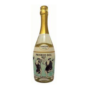 Candoni Prosecco Bottle Picture