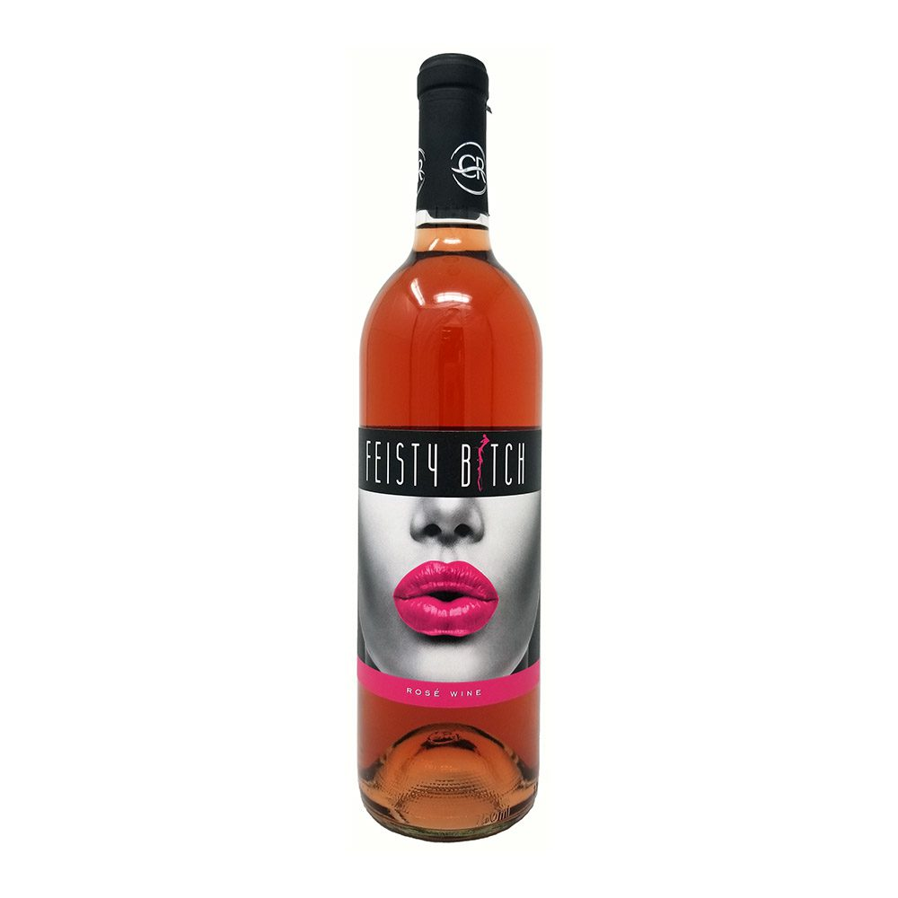 Canyon River Feisty Bitch Rose Bottle PIcture