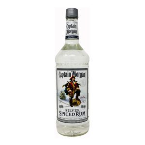 captain morgan silver rum bottle picture
