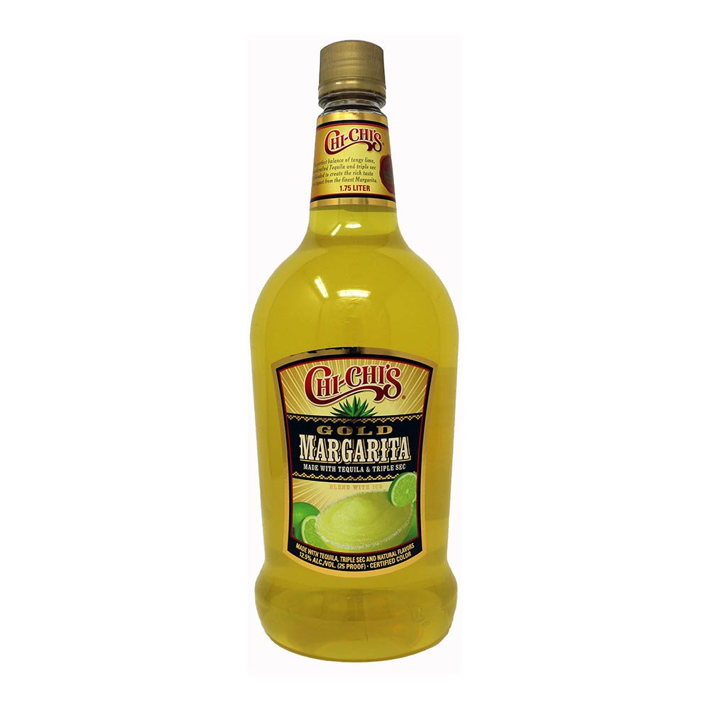 chi chis gold margarita bottle picture