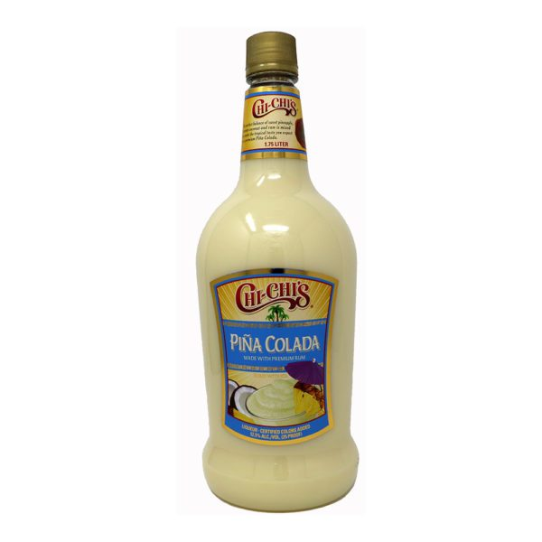 chi chis pina colada bottle picture