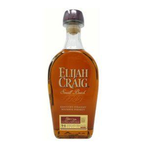 Elijah craig whiskey bottle picture