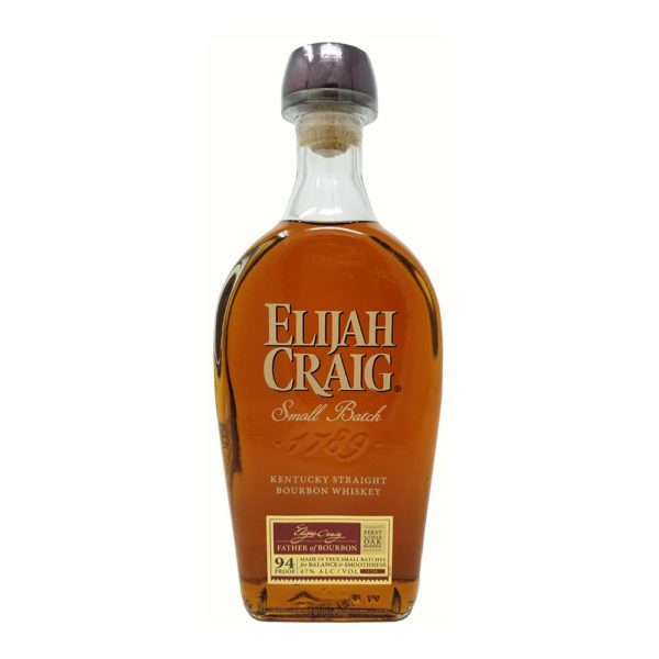 Elijah craig whiskey bottle picture
