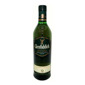 Glennfiddich scotch bottle picture