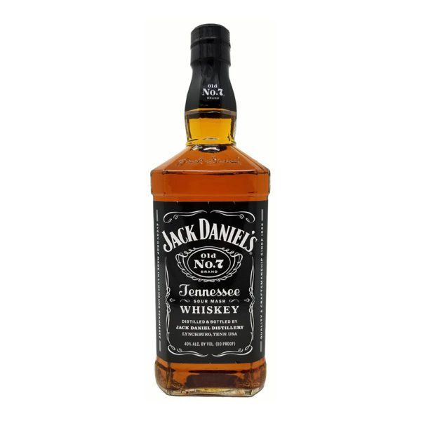 jack daniels tennesee black whiskey bottle picture
