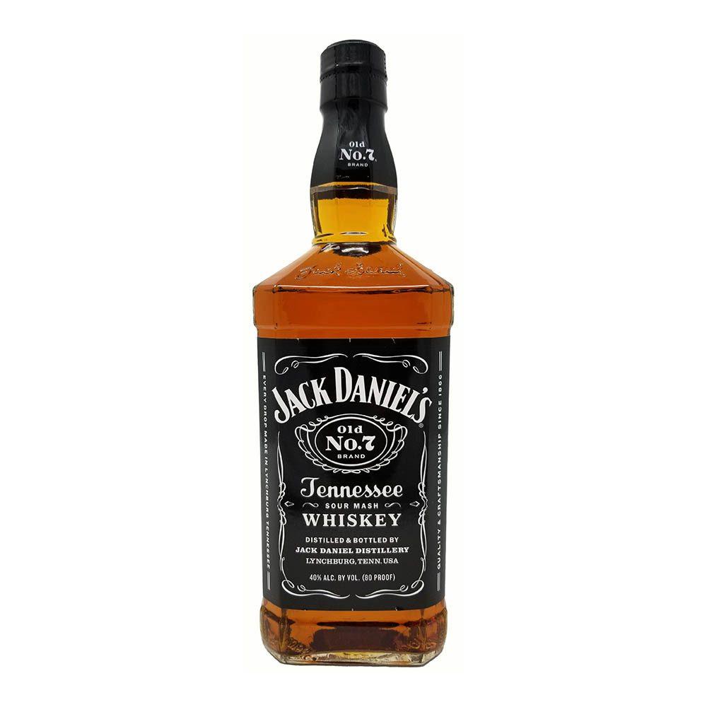 jack daniels tennesee black whiskey bottle picture