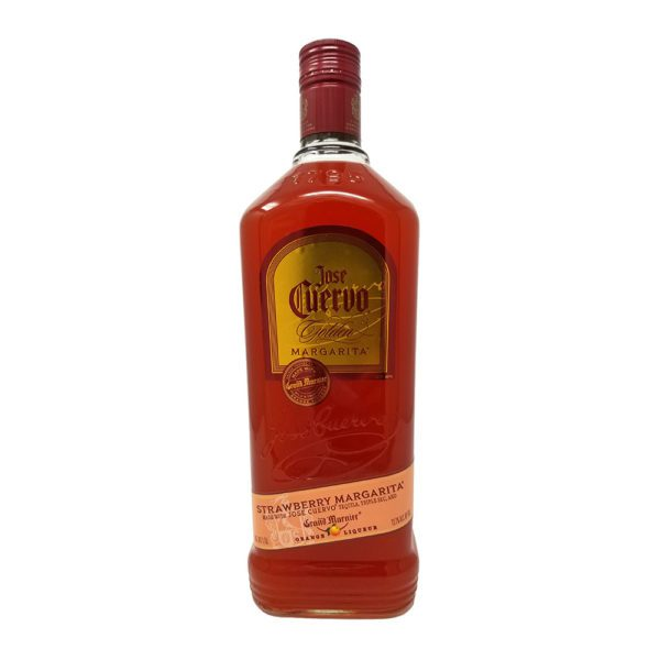 jose cuervo goldren strawberry margaritas bottle picture