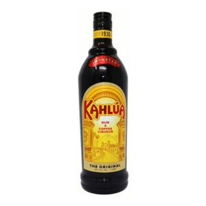 kahlua coffeee & rum liqueur bottle picture