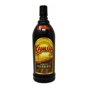 kahlua white russian bottle picture