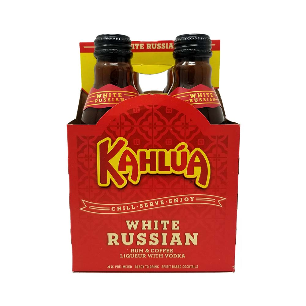 kahlua white russian 4 pack of bottle picture