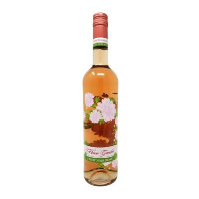 PIcture of Flower Garden Pinot Noir Rose Wine Bottle
