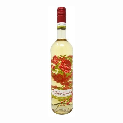 Picture of Flower Garden riesling wine bottle