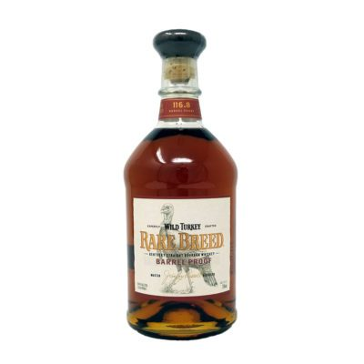 picture of wild turkey rare breed bourbon bottle