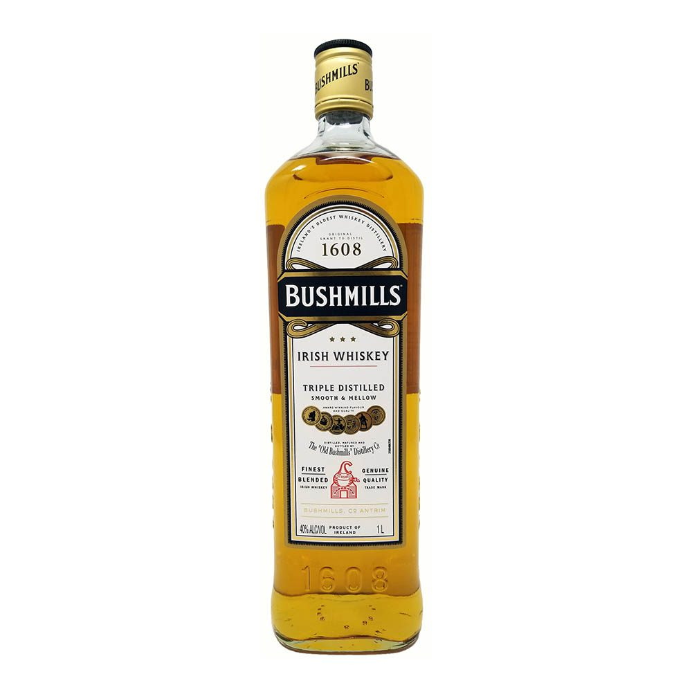 Bushmills Whiskey Bottle Picture