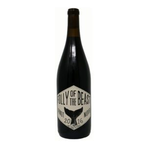 Folly of the beast pinot noir wine bottle picture