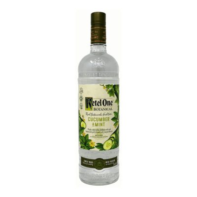 Ketel One Botanical Cucumber & Mint Liqueur Bottle Picture