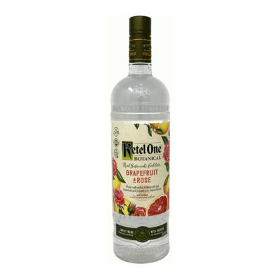 Ketal One Botanical Grapefrut & Rose Liqueur Bottle Picture