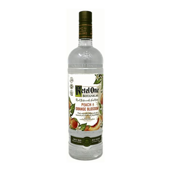 Ketel One Botanical Peach & Orange Blossom Bottle Picture