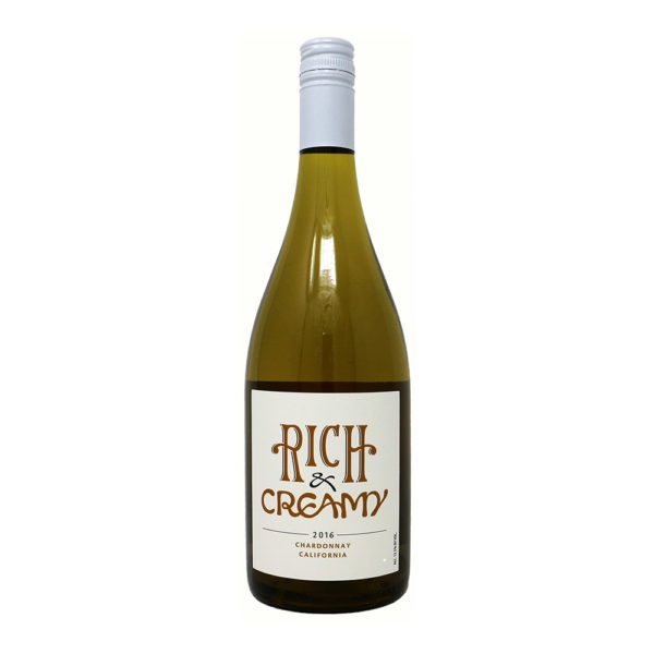 Rich and Creamy Chardonnay Wine Bottle picture