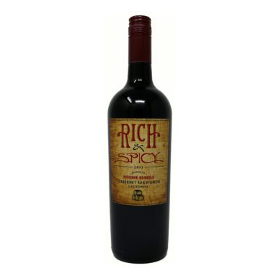 Rich & Spicy Cabernet Sauvignon wine bottle Picture