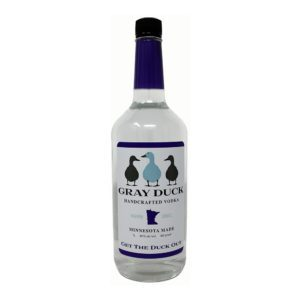 gray duck vodka bottle picture