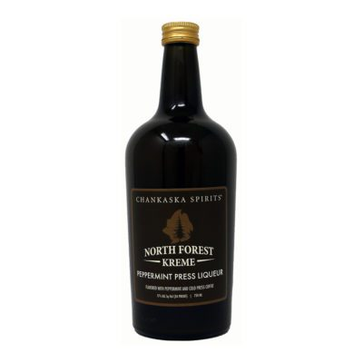 chankaska spirits north forest kreme peppermint liqueur bottle picture