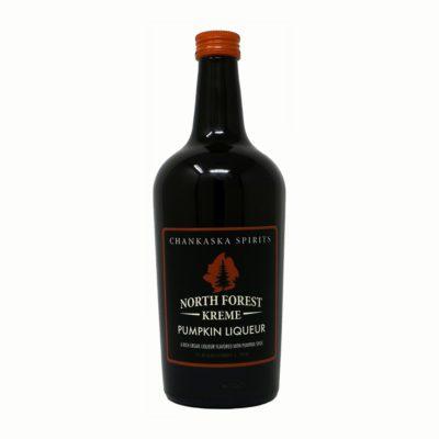 Chankaska North Forest Kreme Pumpkin liqueur bottle picture