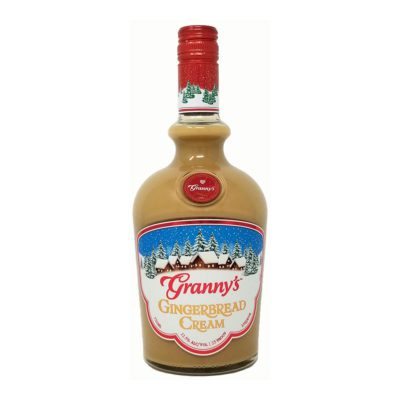 grinnys gingerbread cream bottle picture