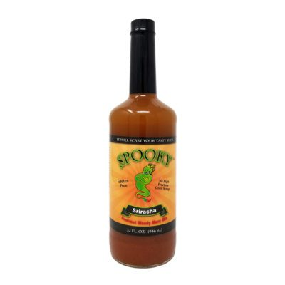 Spooly Siracha Bloody Mary Mix Bottle Picture