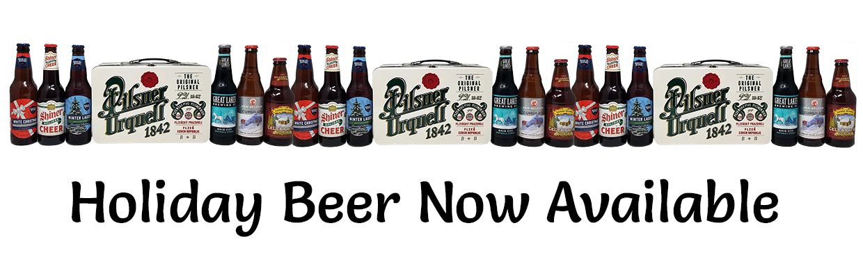 Holiday Beer Available Now Sign Picture