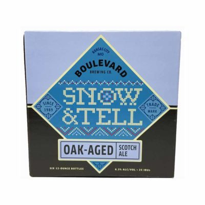 boulebard brewing snow and tell beer picture