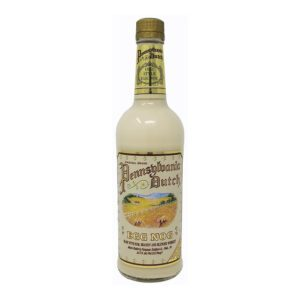 pic of pennsylavnia dutch egg nog bottle
