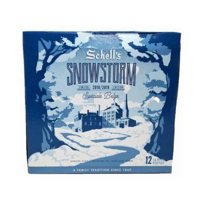 schells snowstorm beer picture