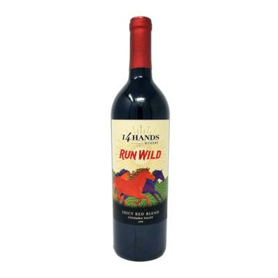 good time liquors 14 hands run wild red blend wine photo
