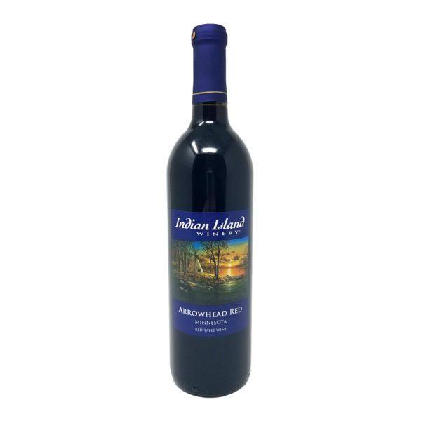 good time liquors indian island winery arrowhead red wine photo