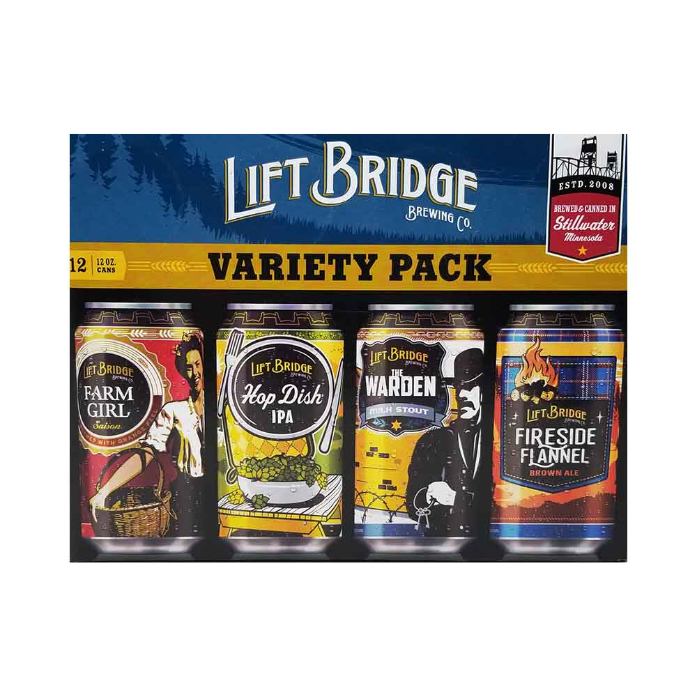 Lift Bridge Variety Pack Good Times Liquor Photo