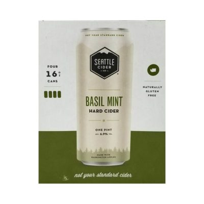 Seattle Basil Mint Hard Cider Good Times Liquor Photo