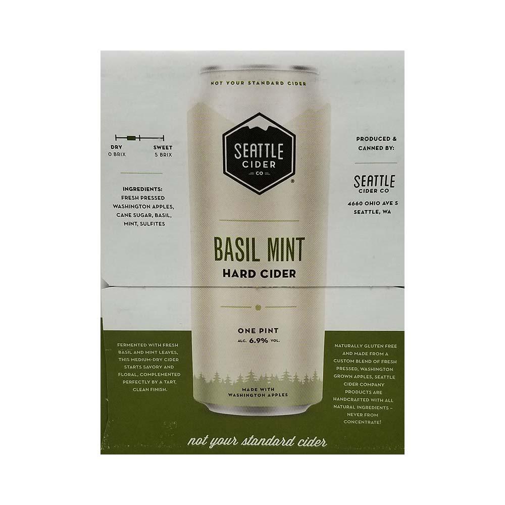 Seattle Basil Mint Hard Cider Good Times Liquor Photo