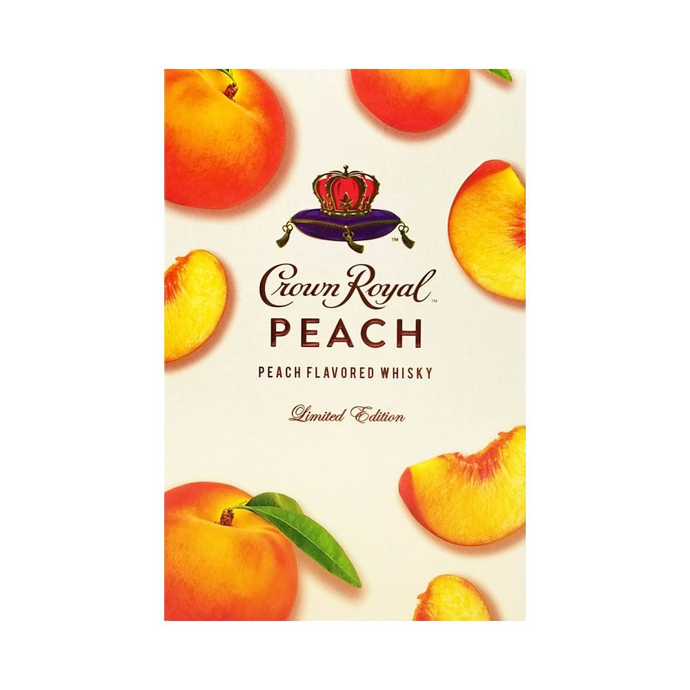 good time liquors crown royal peach limited edition whisky picture