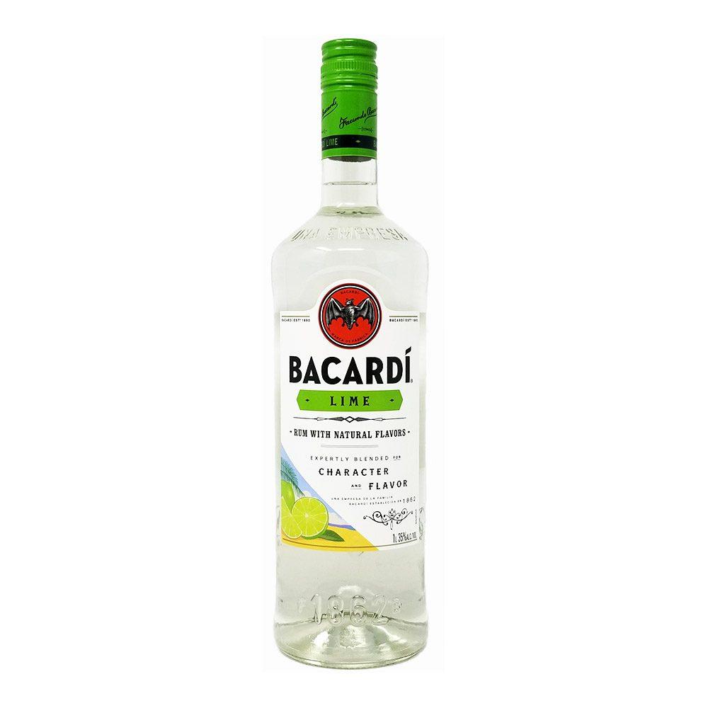 Bacardi Lime bottle photo