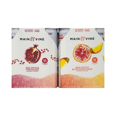 Good Time Liquors Main & Vine Wine Spritzers Picture